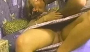 Riding a hot man's knob is all a wicked chick wants to do