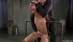 Extraordinary Slavery Water Boarding Cruel Torment and Intensive Orgasms