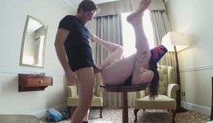 rumpehull anal deepthroat ass-til-munn gagging anal creampie gaping hals anus