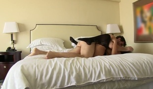 Manuel Ferrara uses his beefy meat pole to bring oral-stimulation addict Kiara Mia with wet wobblers to the height of pleasure