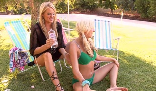 Incredible threesome with Kelly Madison and her ally Eden Adams
