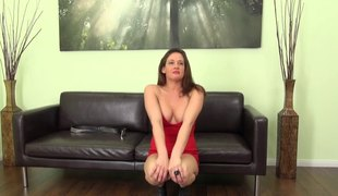Tory Lane loves to be choked while she gets banged