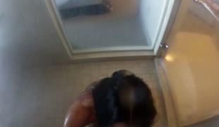 Romi's shower fuck