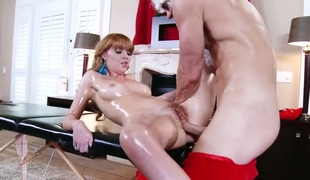 Johnny Sins loves irresistibly sexy Marie McCrayS moist vagina and bangs her as hard as possible