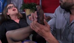amatør blowjob foot fetish