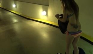Amateur girlfriend in bikini assfucked