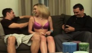 blonde hardcore gangbang blowjob lingerie handjob gruppesex