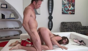 Rocco Siffredi has unforgettable oral sex sex with Marina Visconti before booty fucking