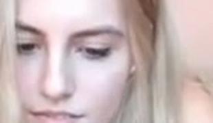 tenåring blonde webkamera