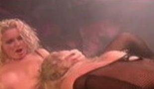Best pornstars Krystal Steal and Wendy Divine in horny cunnilingus, blowjob porn movie