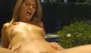 Incredible pornstar in insane small tits, cumshots sex clip