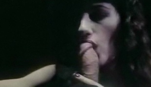 NOBODY KNOWS - vintage sensual blowjob erotic brunette