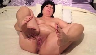 amatør brunette milf onani fingring solo bbw hd