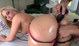 rumpehull anal pornostjerne onani dildo leketøy maskin ass-til-munn gaping anus