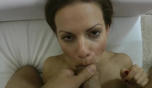 Mira Shine suggests her fuckable face hole to hard dicked Rocco Siffredi