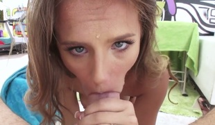 Jillian Janson is absolutely addicted to cum