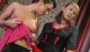 Bridget and Sheila mature lesbo video
