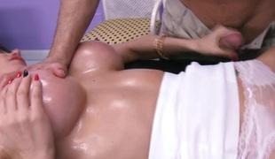 Eva Kareras vagina turnover rubdown at A
