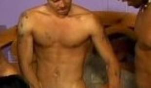 Amazing pornstar C.J. Bennett in lewd gangbang, interracial xxx episode