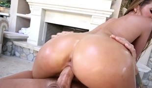 Large ass Abby Cross is at her hottest fucking outdoors