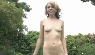 Slim model worked on hardcore in threesome interracial porn