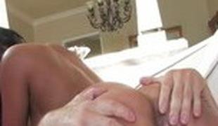 Exotic pornstar Priya Rai in incredible cunnilingus, big tits porn movie scene