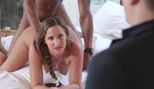 Amirah gets drilled in front of her boyfriend