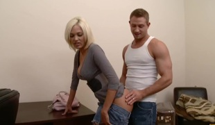 anal blonde store pupper blowjob stor kuk rimjob