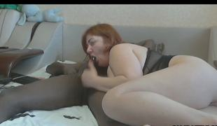 Black Guy Fucks White Milf And Cums In Her Throat
