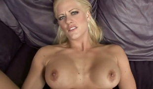 Blonde Holly Heart has a good time fucking