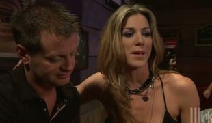 Rebecca Blue and hawt blooded guy have oral stimulation for camera for u to see and have a fun