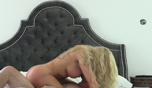 Lengthy haired blond milf Ryan Conner rides hard penis