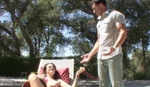 Tristan Berrimore has been lust her stepdads cock