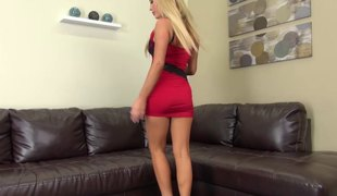 Tasha Reign dazzles in a short and hot skintight dress