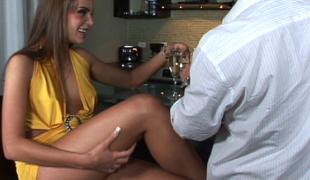 Nika Noir having making love after party