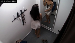 Here's spying the changing rooms! We have two security cameras hidden in cabins of an underclothes shop. Beautiful Czech cuties fitting on bras, pants and hawt lingerie overseas of even the slightest idea they are being watched. Now u can finally watch w