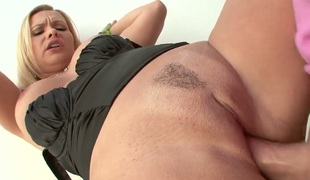 Adorable bitch AJ Applegate cant live a day without taking hard meat stick in her face hole