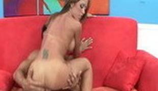 Exotic pornstar Capri Cavanni in fabulous blowjob, rug munch sex video