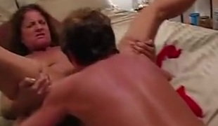 He eats and fucks her pussy priceless