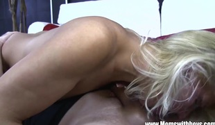 ###l Boy Fucks Aged Blonde Babe After Getting Caught Spying