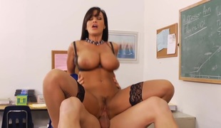 Lisa Ann & Johnny Castle in My 1st Sex Teacher