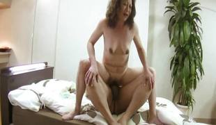 Akemi Seo - Wrinkled Vagina JAV Oldie Having Rough Sex