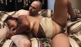 Lustful Oriental milf with a big booty receives nailed hard by a juvenile guy