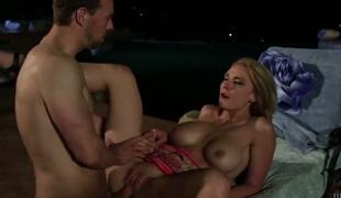 Madison Fox sucks dudes love stick enthusiastically