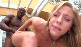 Chastity Lynn is in the mood for jock stroking