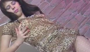 MargaritaA in pantyhose video