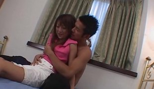 Oriental girl can't stop cumming as this guy slams his cock into her