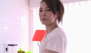 Imposing Japanese sweetheart lets her partner to give her a valuable shagging