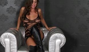 Abigail Masturbates Hard