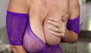 Allison fucks a sexy redhead
